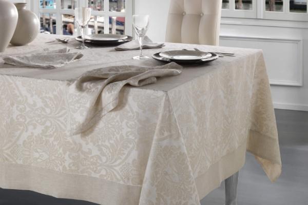 Biancheria da tavola per Natale Collezione San Marco by Martina Vidal