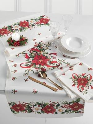 Biancheria da tavola per Natale collezione Holiday Run by Gabel