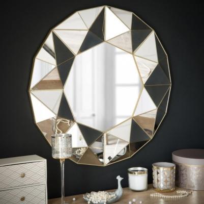 Specchio con rilievi geometrici by Maison du Monde