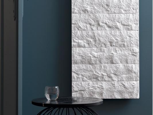Radiatore in marmo Arblu Livingstone modello Gransasso