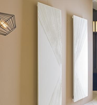 Radiatore in marmo modello Breeze prodotto da Laboratori Graziano