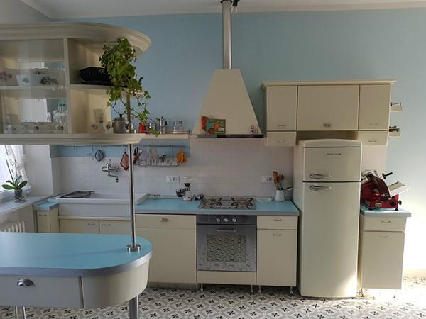 Cucina anni 50 AB1910 wood design