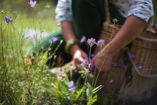 Raccogliere i fiori con cura, da feminasblog.com