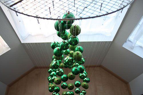 Albero fai da te sospeso al soffitto Notmartha.org