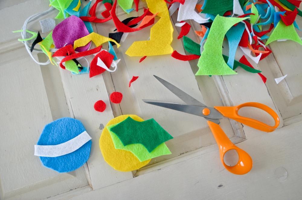 Decorazioni in feltro per albero a parete Projectnursery.com