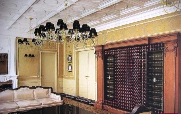 Organizzare un cantina in casa - mobile per vini Esigo Wall