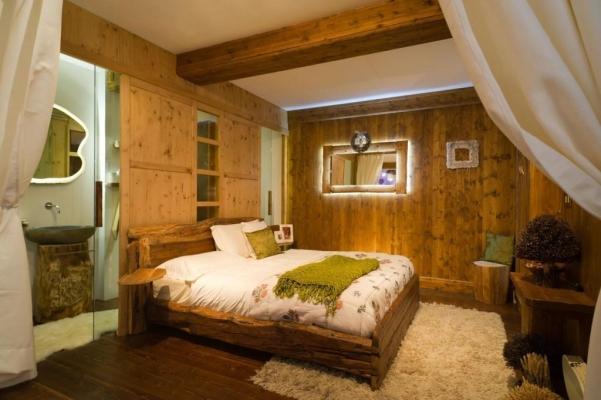 Camera da letto stile montagna - Ivo Fontana