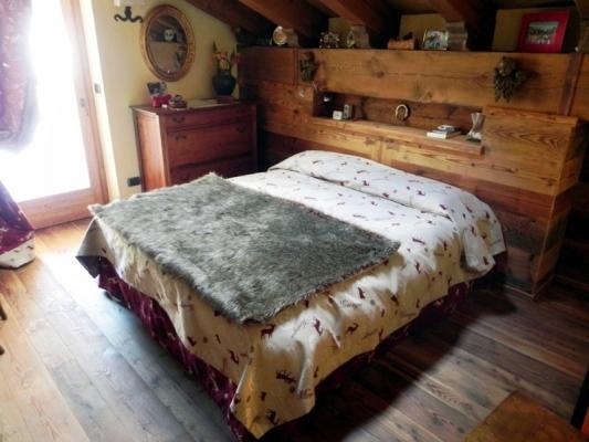 Camera da letto di montagna - Falegnameria Marchiò