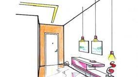 Idee originali per illuminare l'ingresso valorizzando gli spazi