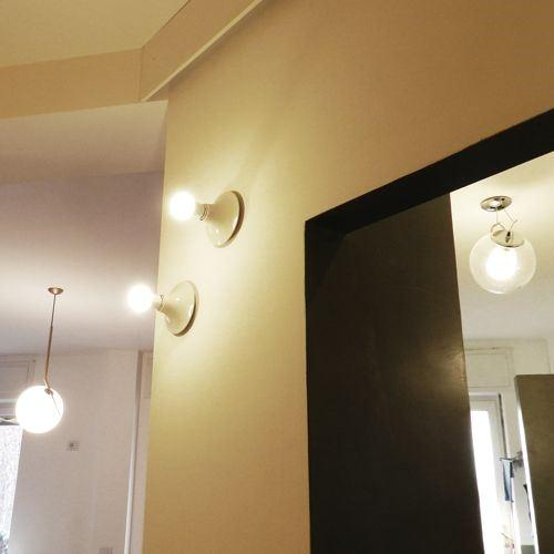 Illuminazione ingresso a parete - Teti Artemide