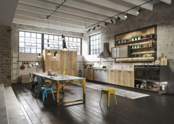 Cucina in stile industriale Loft di Snaidero