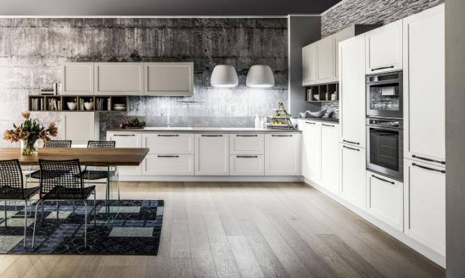 Dallas di Arrex: cucina in polimerico