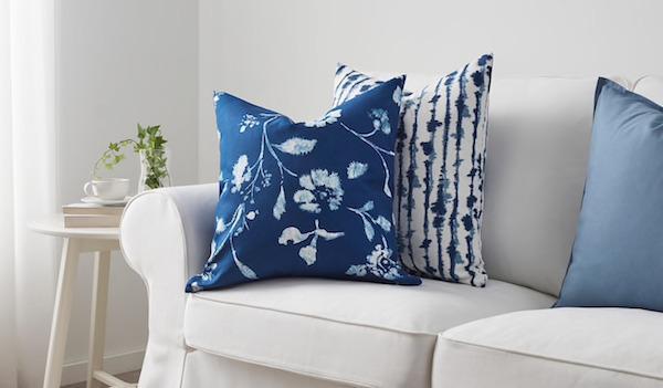 Fodera BLÅGRAN, nuance Classic Blue - Foto e design Ikea
