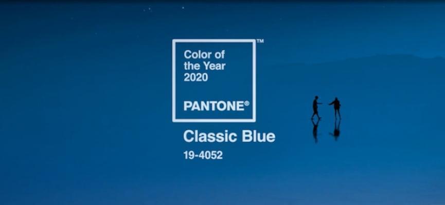 Pantone Classic Blue è il nuovo Color of The Year 2020