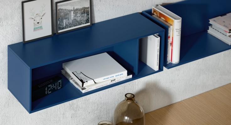 Composizione 07_15 per zona living - Design e foto by Emede