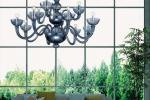 Lampadario Obelisco - Design e foto by Magiedimurano.com