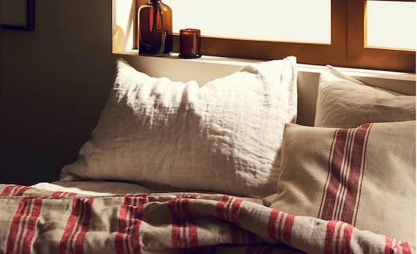 Copripiumino a righe - Collezione natalizia Zara Home