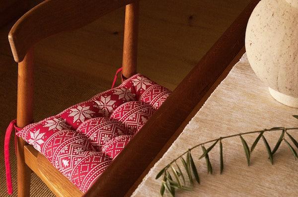 Cuscino per sedia - Collezione natalizia Zara Home