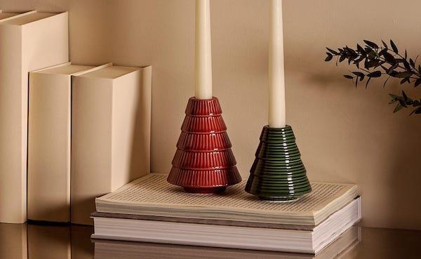 Portacandele abete - Collezione natalizia Zara Home
