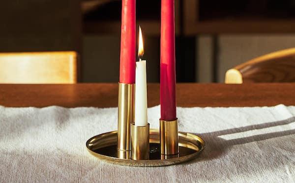 Portacandele, collezione natalizia Zara Home