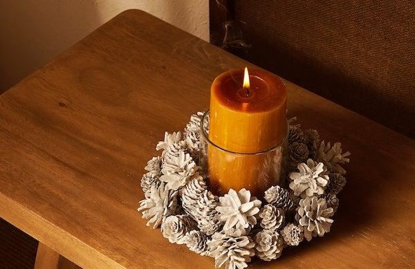 Portacandele ghirlanda - Collezione natalizia Zara Home