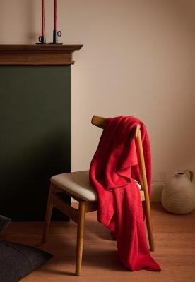 Collezione natalizia Zara Home: coperta in pile