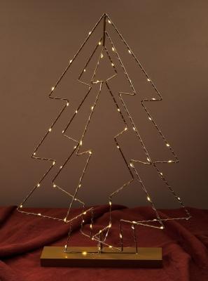 Collezione natalizia Zara Home: lampada albero di Natale grande