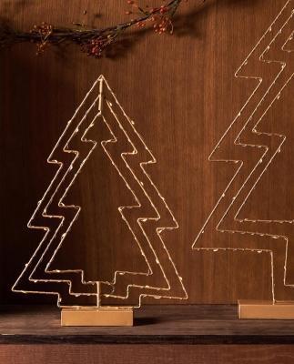 Collezione natalizia Zara Home: lampade albero di Natale