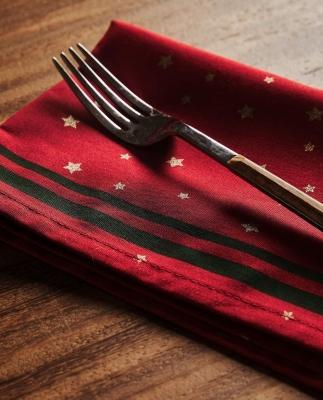 Collezione natalizia Zara Home: tovaglioli decorati