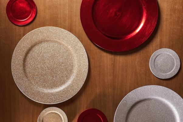Collezione natalizia Zara Home: sottopiatti effetto glitter