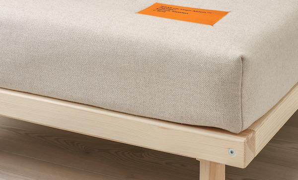 Fodera per divano letto MARKERAD - Design by Ikea e Virgil Abloh