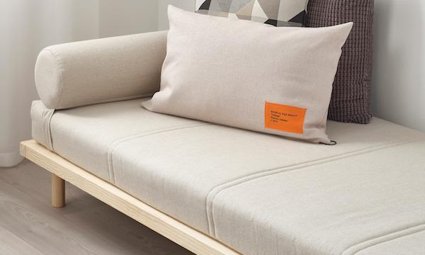 Struttura letto MARKERAD - Design by Ikea e Virgil Abloh