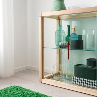 Vetrina in pino - Collezione Markerad by Ikea e Virgil Abloh