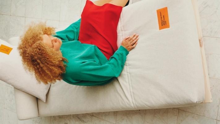 Struttura divano letto - Collezione Markerad by Ikea e Virgil Abloh