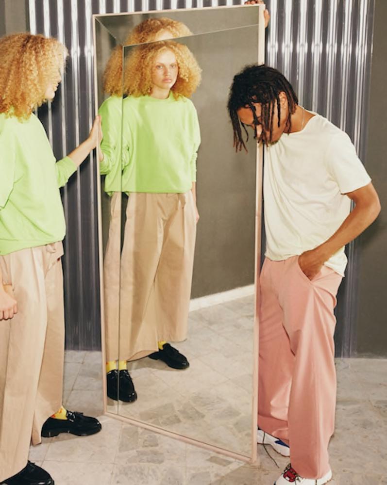 Specchio - Collezione Markerad by Ikea e Virgil Abloh