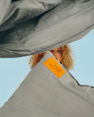 Set copripiumino e federa - Collezione Markerad by Ikea e Virgil Abloh