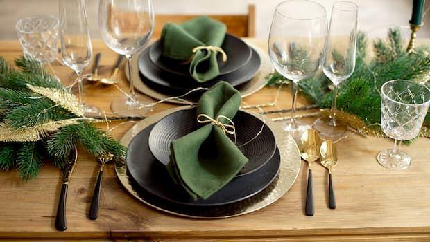 Idee creative per addobbare la tavola di Natale