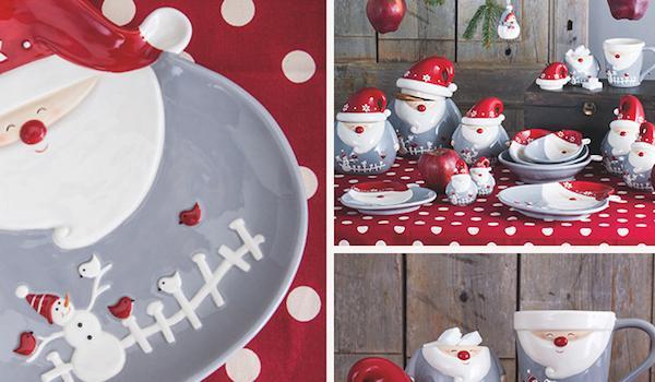 Set da tavola per dolci Santa is Coming - Tognana