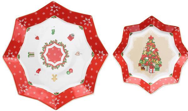 Piatti natalizi Wonderland - Tognana