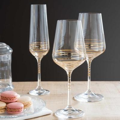 Bicchieri decorati in oro Spirale - Maisons du Monde