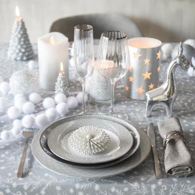 Servizio piatti Milady: proposta per la tavola natalizia - Maisons du Monde