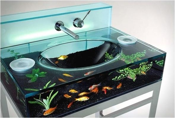 Acquario in bagno Moody Aquarium Sink - Italbrass