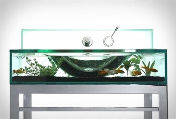 Acquario da lavabo Moody Aquarium Sink - Italbrass
