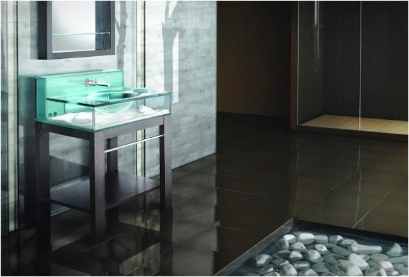 Acquario per lavabo Moody Aquarium Sink - Italbrass