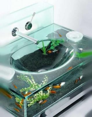 Acquario nel lavabo Moody Aquarium Sink - Italbrass