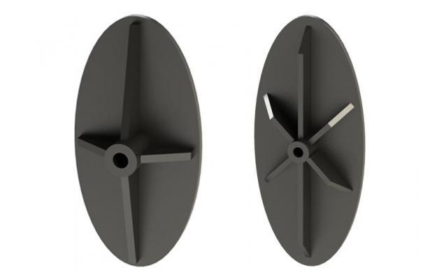 Capochiavi ovali con piastra nervata di Contigiani&Giacomini