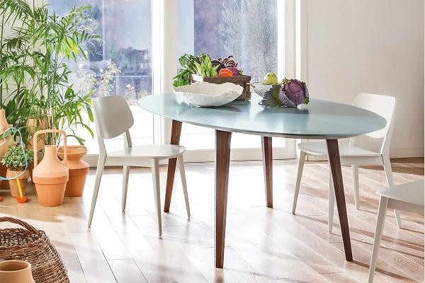 Sedia da cucina in legno Doll di Novamobili