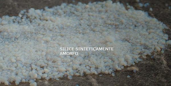 Aerogel, gel di silice amorfa