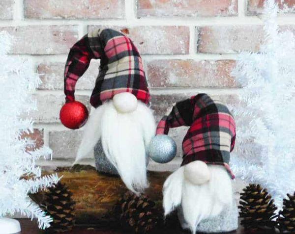 Gnometti con un calzino Craftymorning.com