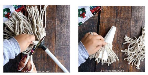 Gnomo con il mop Craftmorning.com